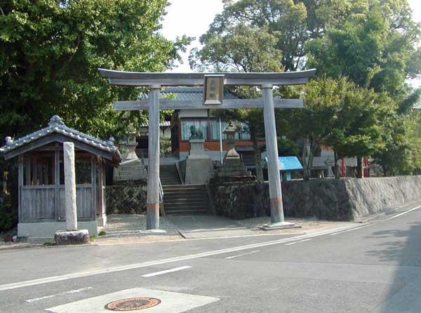大神社(芳養王子跡)