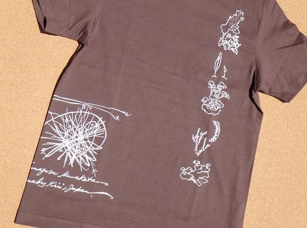 3Dクリスタル南方マンダラTシャツ