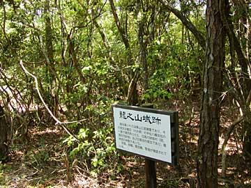 竜神山城跡