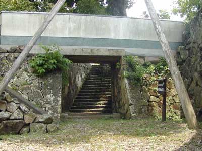 田辺城水門