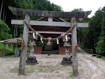 熊野社;愛知県豊田市則定町78・80・83ノ1番地:全国熊野神社参詣記